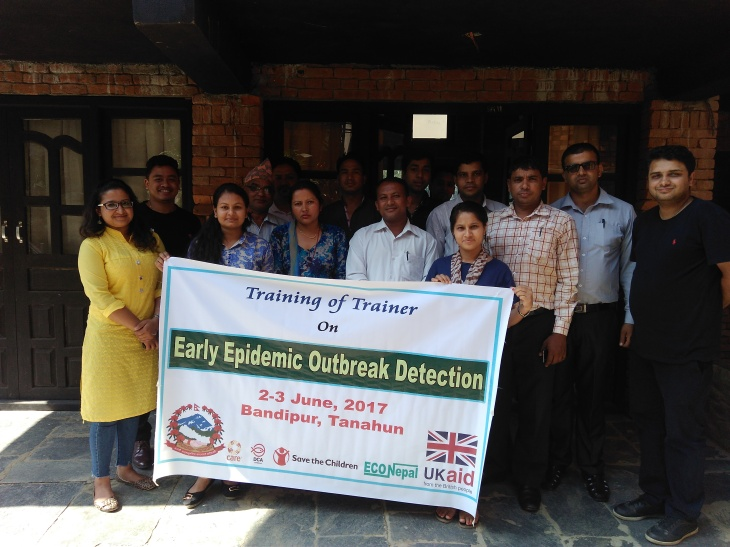 WASH1_Completion of Early epidemic detection training